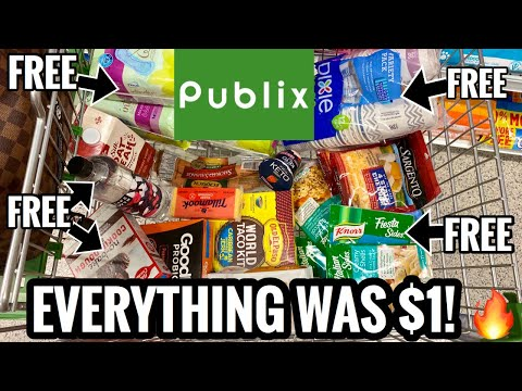 CART FULL OF GROCERIES FOR $1🔥| The Publix Promise Delivers 🙌🏽 | Coupon Deals for 9/2-9/8 or 9/3-9/9