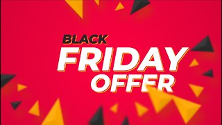 Product Banner in Afтer Effects - Black Friday Banner - After Effects Tutorial - Easy Method