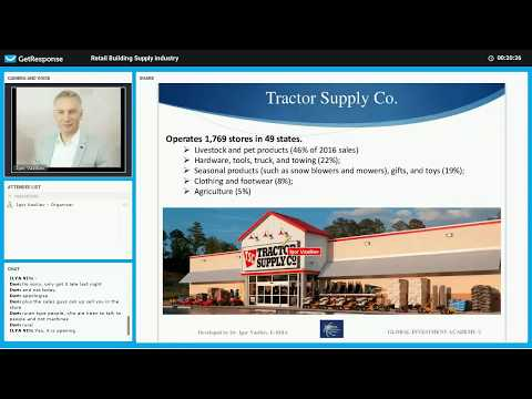Retail Building Supply industry Part 3 Tractor Supply Co (TSCO) fundamental analysis