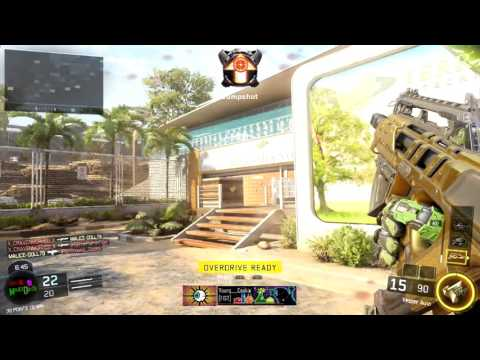 CALL OF DUTY BLACK OPS 3 FREE FOR ALL GOLD VESPER SET UP 30 15