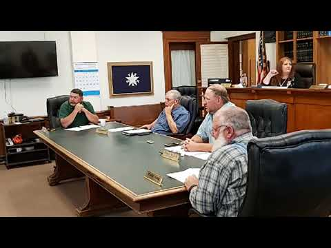 Eastland County, TX Declared Sanctuary for Business - Commissioner's Court Meeting June 3, 2020