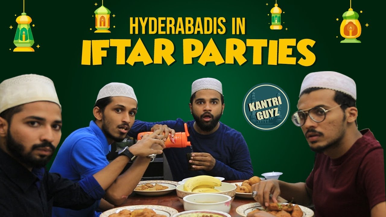 Hyderabadis In Iftar Parties | Funny Hyderabadi Comedy | Kantri Guyz