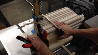 Cutting Boards, Bandsaw Sled