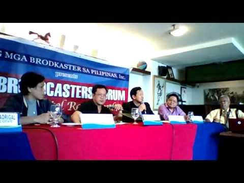 KITV.PHILIPPINES full coverage of Liga ng mg Brodkaster ng Pilipinas Media Forum