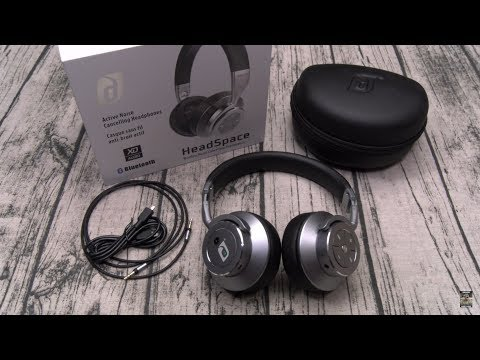Damson HeadSpace Wireless Noise Cancelling On-Ear Headphones