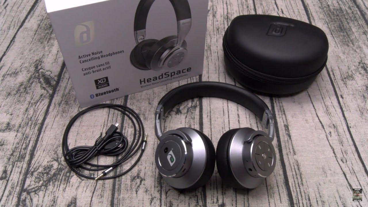 1f5b643365f Damson HeadSpace Wireless Noise Cancelling On-Ear Headphones - YouTube