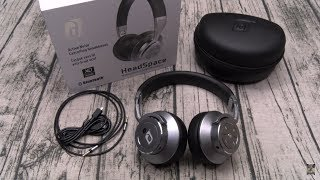 Damson HeadSpace Wireless Noise Cancelling On-Ear Headphones
