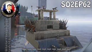 ARK Survival Evolved Pc (Mods) - Let's Play Mon 1er Navire De Guerre Le PANDATOR (S02#62)