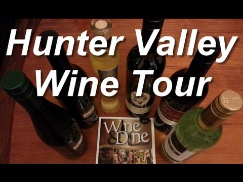 Hunter Valley Wine Tasting Tour from Sydney. Short Commentary and Review