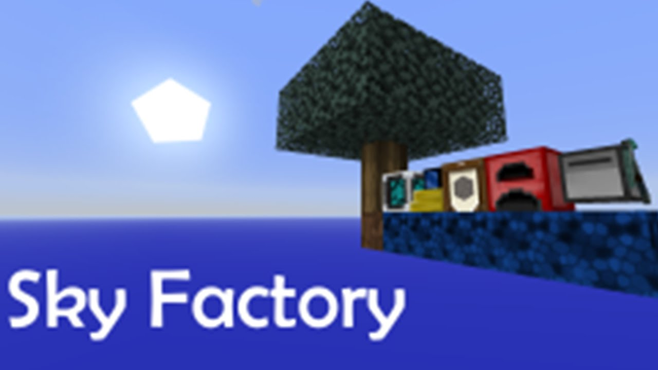 Skyfactory  Start A New Island