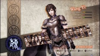 Dynasty Warriors 7: Xtreme Legends All Characters [PS3]
