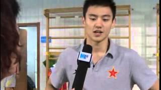 20130911全运专访:男子50米、100米自由泳冠军宁泽涛