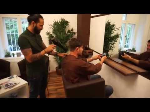 Besuch beim Friseur - Männer Haarschnitt - Undercut und Styling!