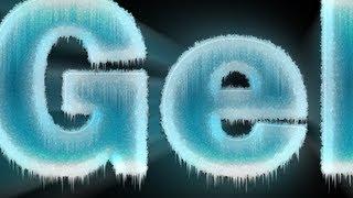 Tutorial Photoshop - Texto de Gelo