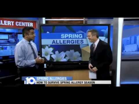 Allergist Dr. Summit Shah from Premier Allergy Gives Seasonal Allergy Tips
