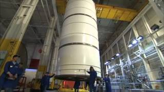 ATK - Solid Rocket Booster Improvements | NASA SRB Space Launch System Video