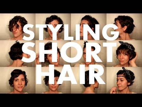 how to cut and style short hair 10 hairstyles for a growing pixie cut 7113 | hqdefault