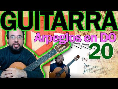 curso-de-guitarra-lección-20-–-práctica-en-el-pentagrama-y-ejecución-con-arpegios-en-do.