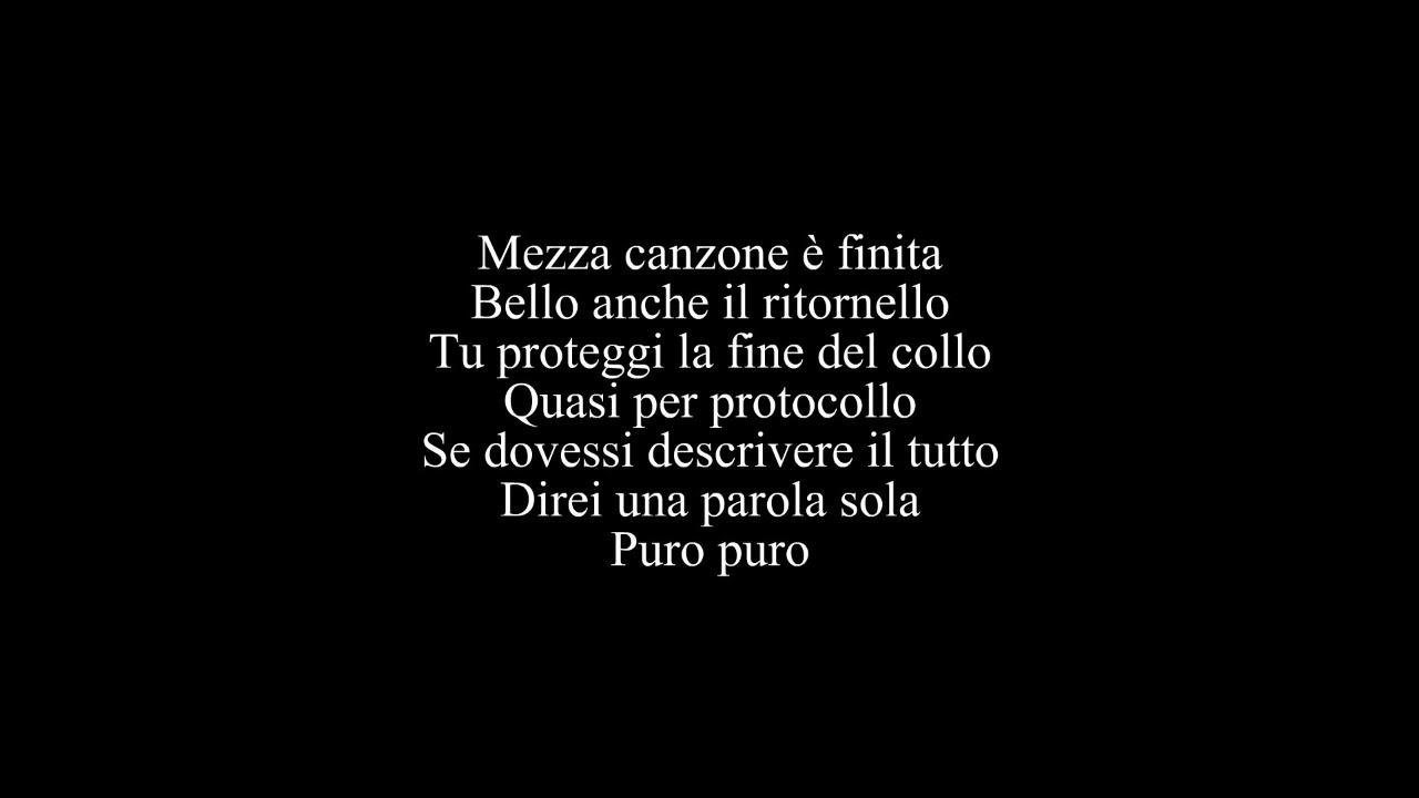 Biagio Antonacci Un Bacio Lungo Come Una Canzone Lyrics Youtube