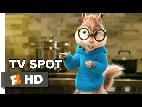 Alvin and the Chipmunks: The Road Chip TV SPOT - Land, Sea, Air (2015) - Animation HD