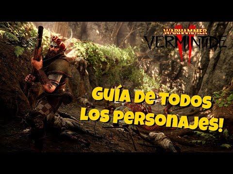 Guía personajes! Puntos fuertes y evoluciones! Warhammer Vermintide 2!