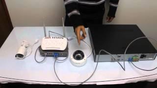 Instalacion y Configuracion de sistema Video vigilancia IP HIKVISION