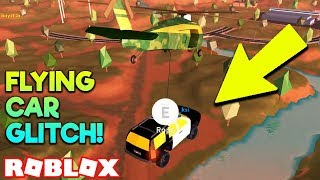 HOW TO MAKE A CAR FLY! ARMY HELICOPTER ROPE GLITCH! | Roblox Jailbreak *1 YEAR UPDATE*
