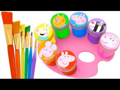 Best Learning Colors Video for Children Peppa Pig Play Doh Molds Fun & Creative for Kids RL