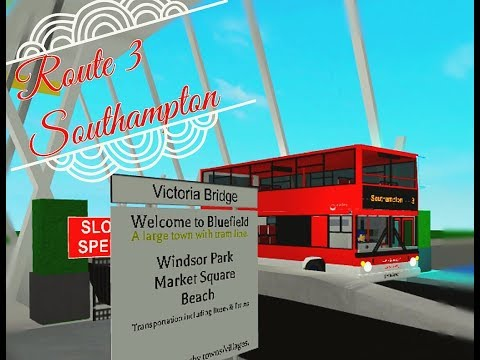 Roblox | bluefield bus simulator | route 3 to Southampton | alx400 valley transport.