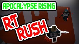 OP RT RUSH | Apocalypse Rising (4.) | ROBLOX