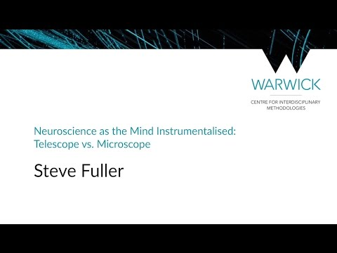 Neuroscience as the Mind Instrumentalised | Steve Fuller | #CIMStreams