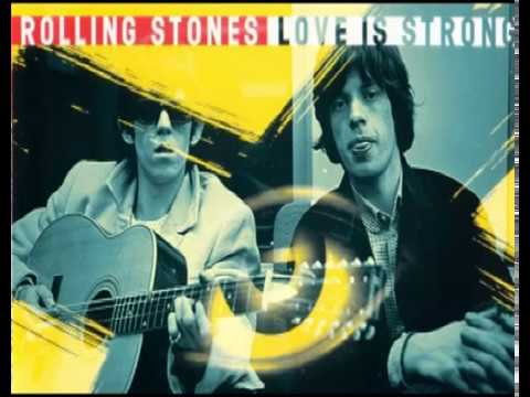 Rolling Stones - Love Is Strong (Acoustic Mix)