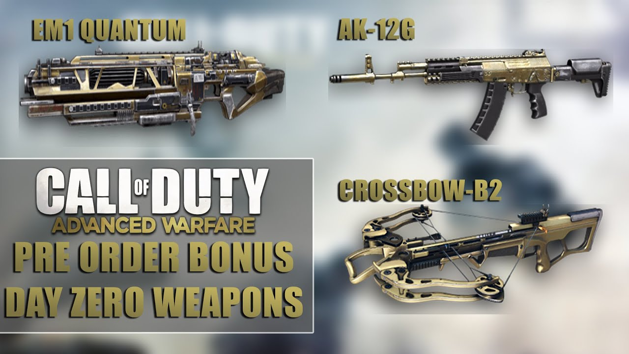 Call of Duty Advanced - Warfare Day Zero and Advanced Arsenal