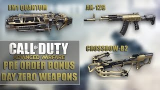 "Call of Duty Advanced - Warfare Day Zero and Advanced Arsenal ""GAMEPLAY"" (Pre Order Bonus)"