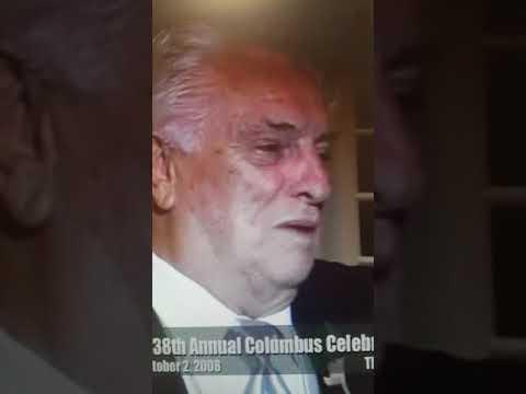 TOMMY DEVITO ITALIAN TRIBUNE AWARD JO SHENMAN SHOW  J.PETRECCA VIDEO