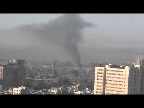 Damascus today, Syria (Damascus Volcano) 18-7-2012