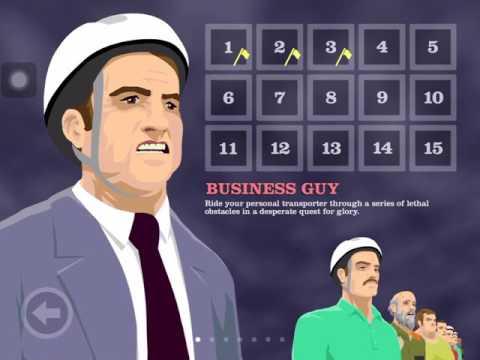 HAPPY WHEELS IOS Levels 4 & 5 Business Guy