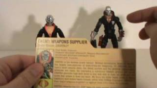 GI Joe - Destro comparison-review.wmv