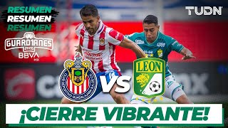 Resumen | Chivas vs León | Guard1anes 2020 Liga BBVA MX - J1 | TUDN