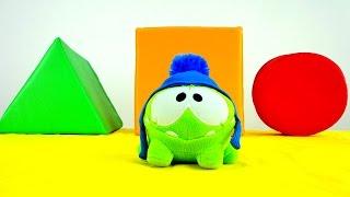 Видео для детей: Ам Ням. Игры Ам Няма. Учим цвета и геометрические фигуры. Фигуры для детей.