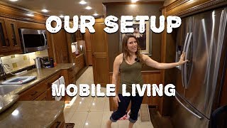 Our RV Setup - A Tour of our Mobile Home RV after 3 Years Full-time