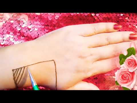 Beautiful and simple mehndi design tutorial  unique mehndi design2019 thumbnail