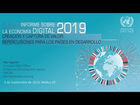 UNCTAD: Informe sobre la Economía Digital 2019 (VIDEO)