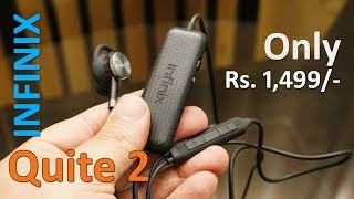 Infinix Quite 2 review - wired headphone with noise cancellation for Rs. 1,499