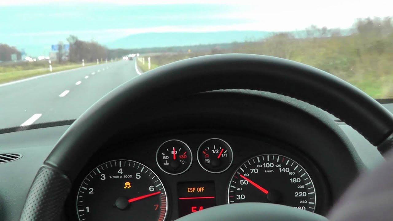 Audi A3 8P 2 0 TFSI S tronic Launch Control 0 100 km h 0 60 mph