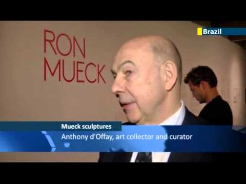 Artist Mueck holds Latin America exhibit