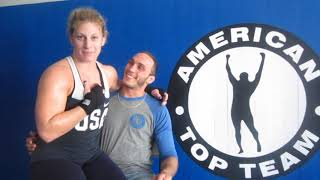 Fun interview with Kayla Harrison (PFL) and Rocco (UFC) of American Top Team in South Florida
