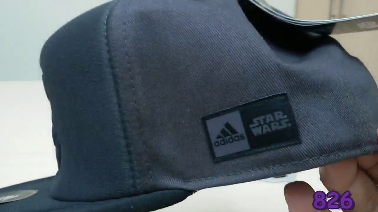 9884459a21b Unboxing Review Topi Adidas Lucas Star Wars Cap BP7826 - YouTube