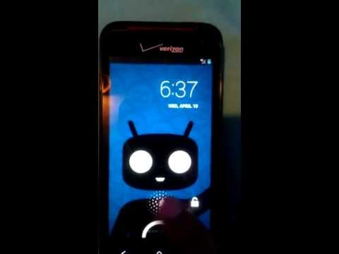CyanogenMod 10.1 HTC Droid Incredible 4G LTE