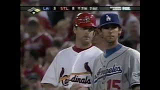 2004 NLDS (Dodgers @ Cardinals) Game Two